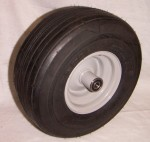 Front wheel-tire